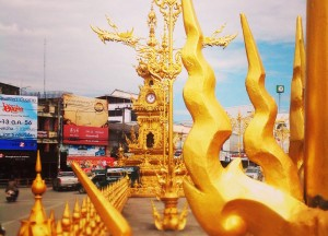 Golden Clock Tower, Top 10 Chiang Rai Attractions Thailand