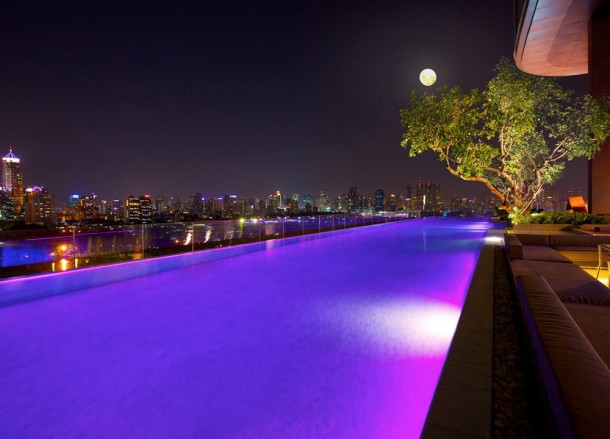 Sofitel So Pool Bar, Coolest Design Hotels in Bangkok Party Hotels