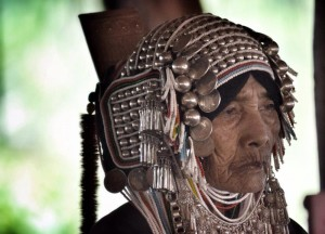 Elderly Hill Tribe Woman, Top 10 Chiang Rai Attractions Thailand