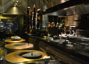Open Kitchen Design at Maya Indian Restaurant Bangkok