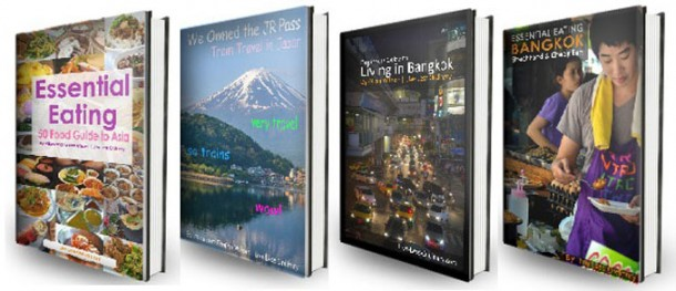 Free Travel eBooks, 8 Hells of Beppu by JR Pass, Japan Travel