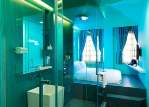 Best Design Boutique Hotels in Singapore, Open Bathrooms