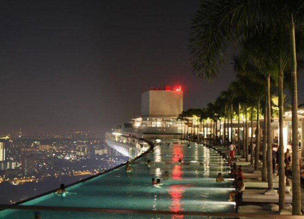 Sands Infinity Pool, Best Design Boutique Hotels in Singapore
