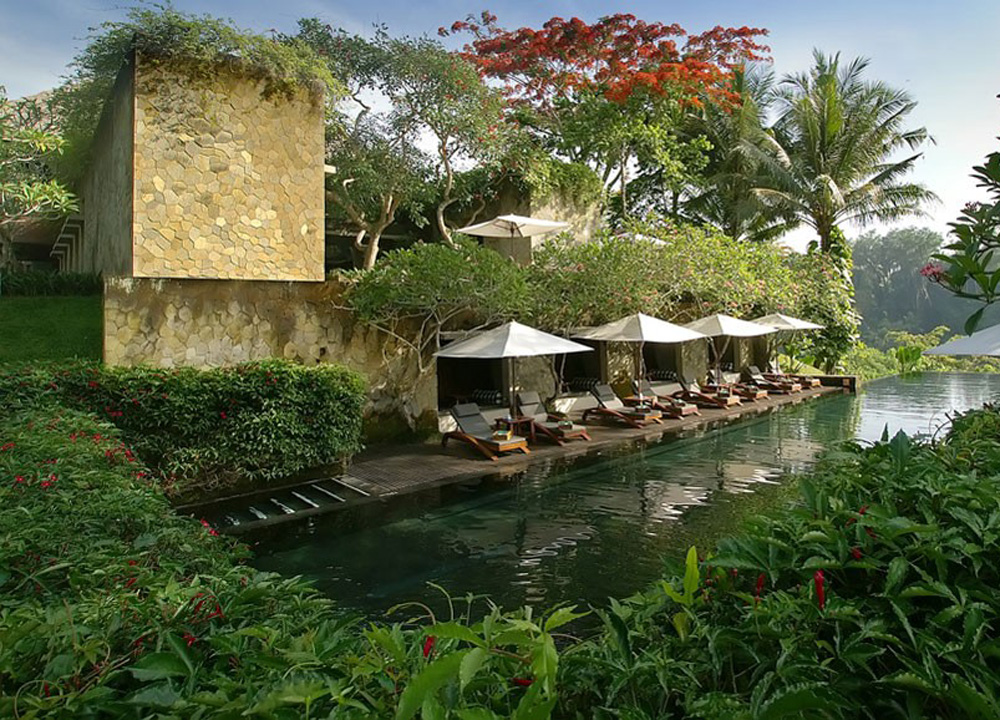 top 10 ubud resorts pool villas and spas in central bali. Black Bedroom Furniture Sets. Home Design Ideas