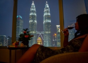 Petronas Towers, Best Hotel Room Views in Asia, Malaysia