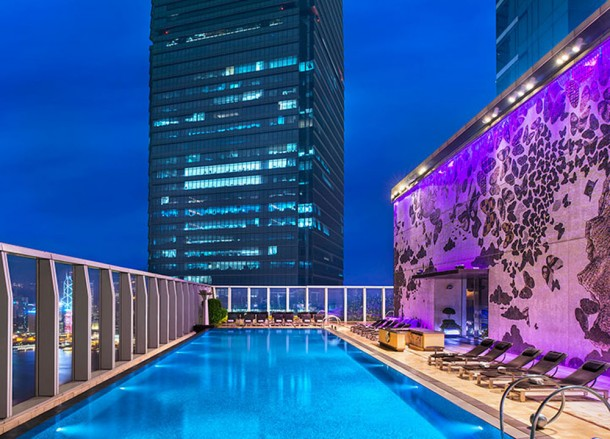 W Hotel Pool, Top 10 Boutique Hotels in Hong Kong