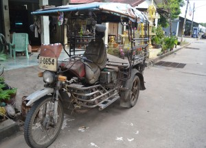 Old Tuk Tuk, Living in Rural Thailand, Isaan North East Thailand