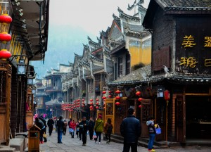 Traditional Houses , Zhangjiajie to Fenghuang, Phoenix Ancient City