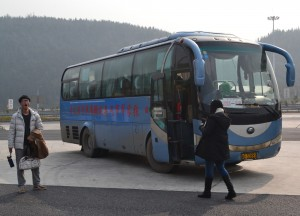 Stopover of Bus to Zhangjiajie to Fenghuang, Phoenix Ancient City