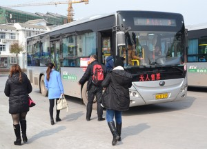 Local Buses, Zhangjiajie to Fenghuang, Phoenix Ancient City