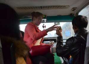 Minivan Conductor, Long Distance Travel in China Beginners
