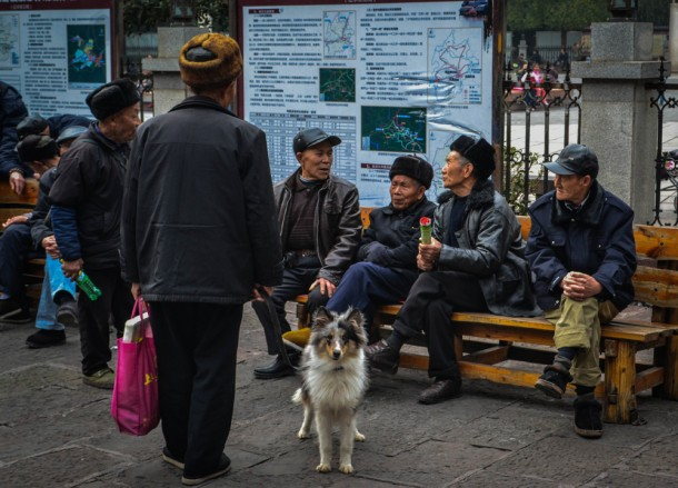 Old People, Zhangjiajie to Fenghuang, Phoenix Ancient City