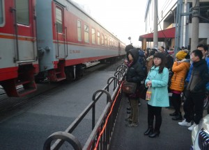 Train Passing Beijing, Long Distance Travel in China Beginners