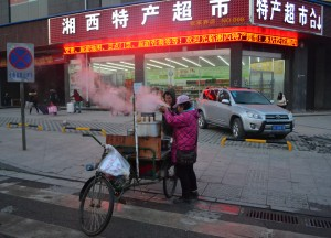 Eating Street Food, Long Distance Travel in China Beginners