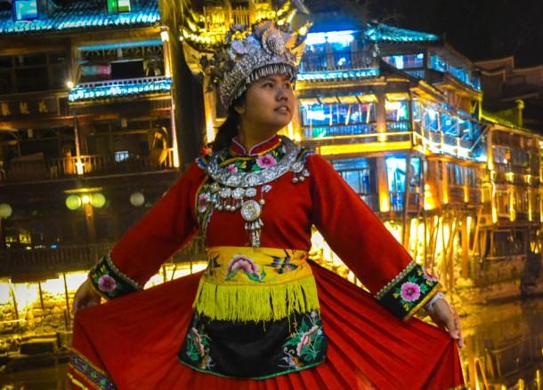 Traditional Hunan Dress, Top Attractions in Hunan China