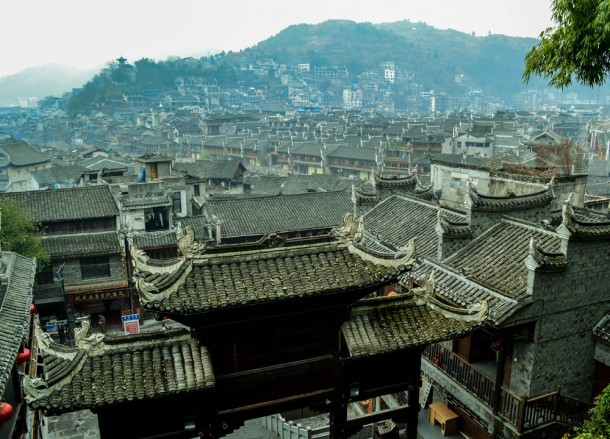 Hilltop Views, Zhangjiajie to Fenghuang, Phoenix Ancient City