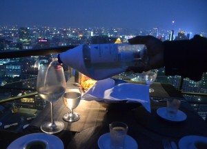 Wine and Dine at Vertigo Rooftop Restaurant Bangkok Moon Bar