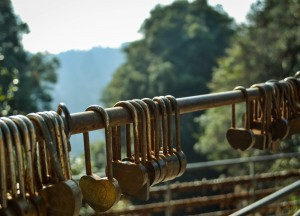 Love Padlocks, Travel to Zhangjiajie National Park