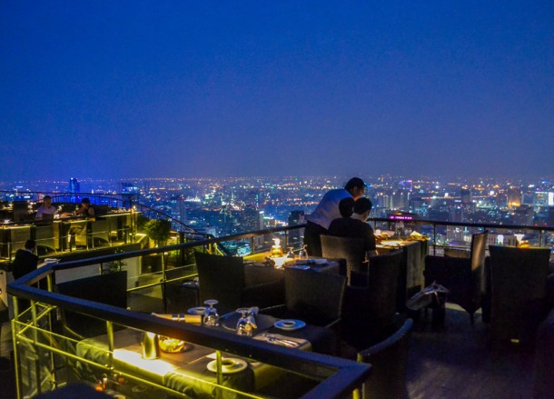 Rooftop Views, Vertigo Rooftop Restaurant Bangkok Moon Bar