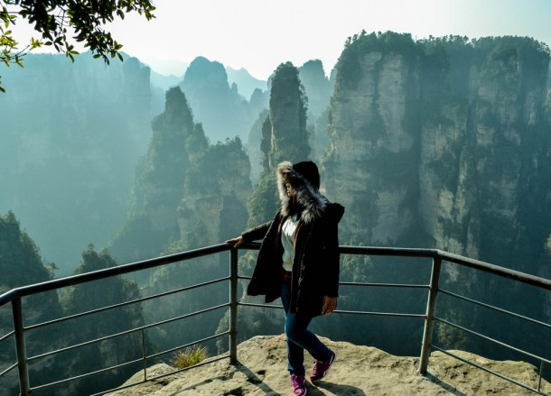 Viewing Zhangjiajie, Top Attractions in Hunan China