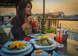 Babble and Rum, Riva Surya Boutique Hotel, Bangkok Riverside, Phra Athit