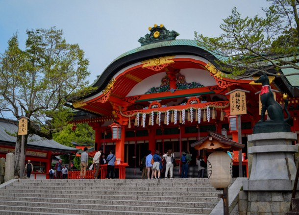 Front Temple, 2 Week JR Pass, Japan Train Travel