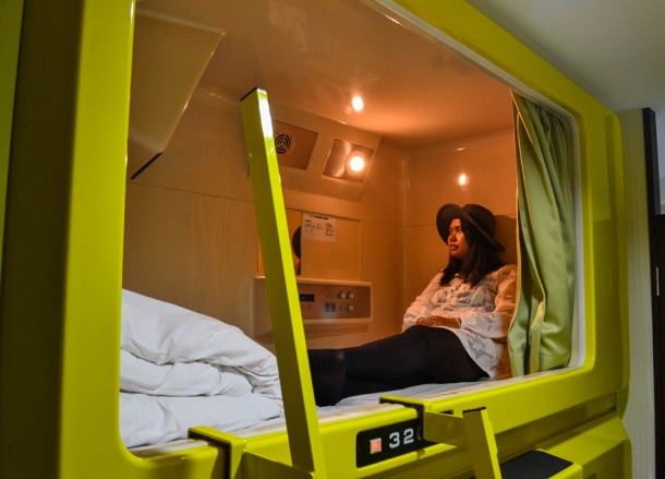 Capsule Hotel in Osaka, Top Tourist Attractions in Osaka Japan