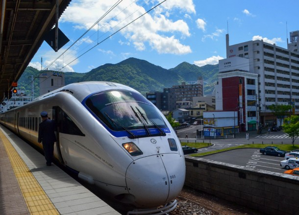 Beppu Station, 8 Hells of Beppu by JR Pass, Japan Travel