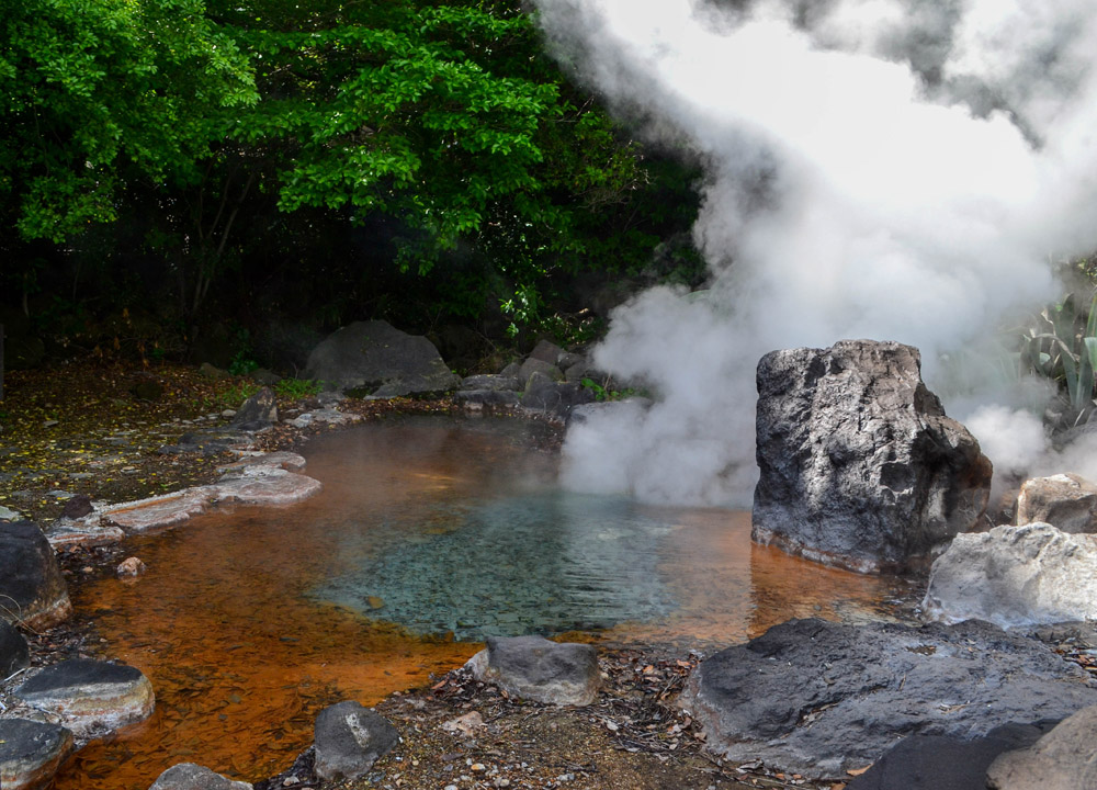 The 8 Hells Of Beppu By Jr Pass  Onsen Town In Japan