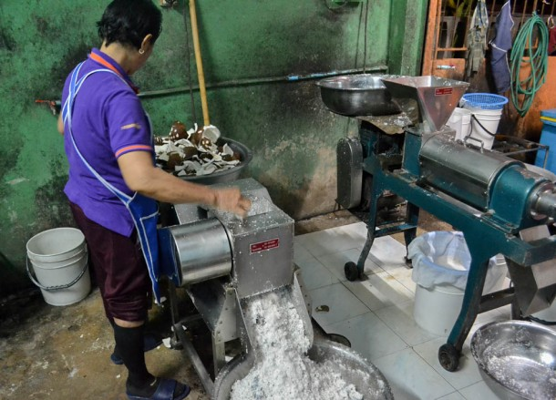 Grating mACHINE, How to Open, Prepare and Eat Coconuts