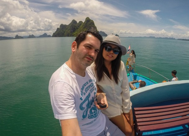 Andaman Islands, Escaping the Backpackers in Phuket, A Lapse in Luxury.