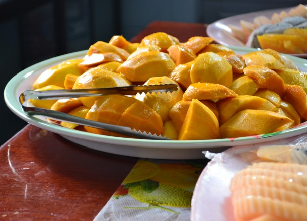 Ripe Mangoes, Weird Fruits of Thailand, Isaan