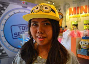 Minion Caps, Getting to Universal Studios Singapore Tips Single Riders