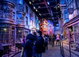 Diagon alley, Getting to the Harry Potter Studios from London Underground