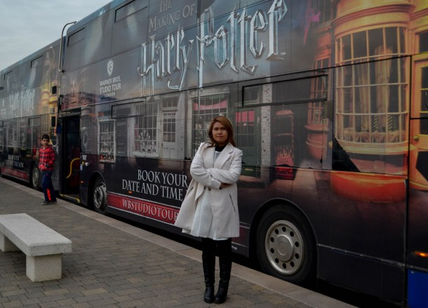 Shuttle Bus, Getting to the Harry Potter Studios from London Underground