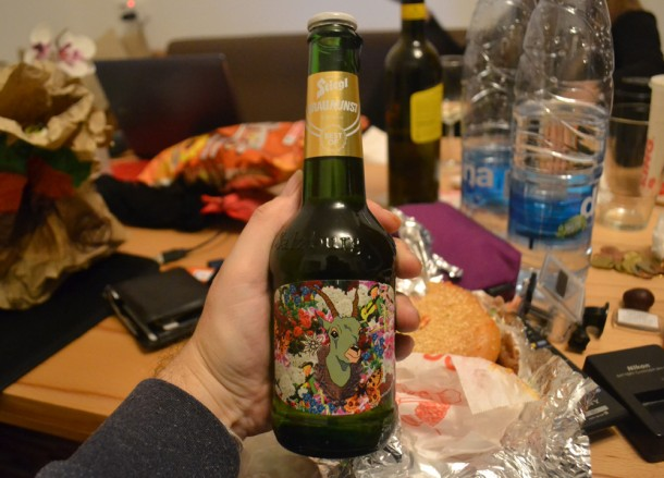 Austrian Beer, Salzburg, Winter Road Trip in Europe