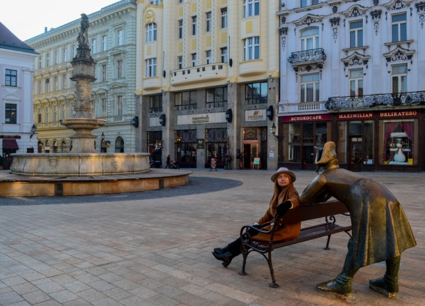 Bratislava Old Town, Winter Road Trip in East Central Europe