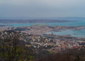 Trieste From Above, Winter Road Trip in East Central Europe