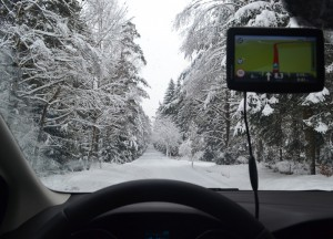 Driving in Czech Republic Winter Road Trip in Central Europe
