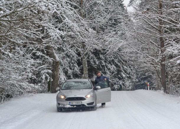 Ford Focus, Winter Road Trip in East Central Europe