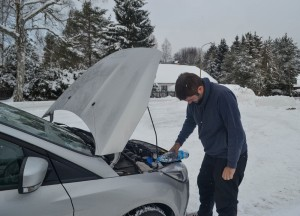 Car maintenance, Winter Road Trip in East Central Europe