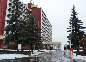 Retro Hotel, Winter Road Trip in East Central Europe