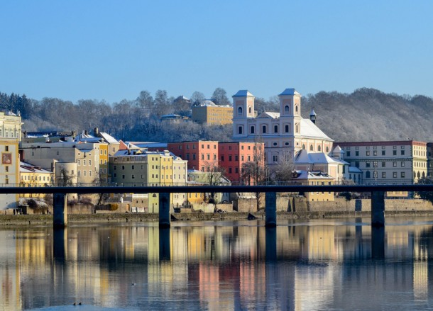 Passau Bavaria, Winter Road Trip in East Central Europe