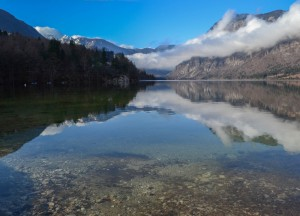 Lake Bohinj, Winter Road Trip in East Central Europe