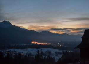 Zakopane from Above, Winter Road Trip in East Central Europe