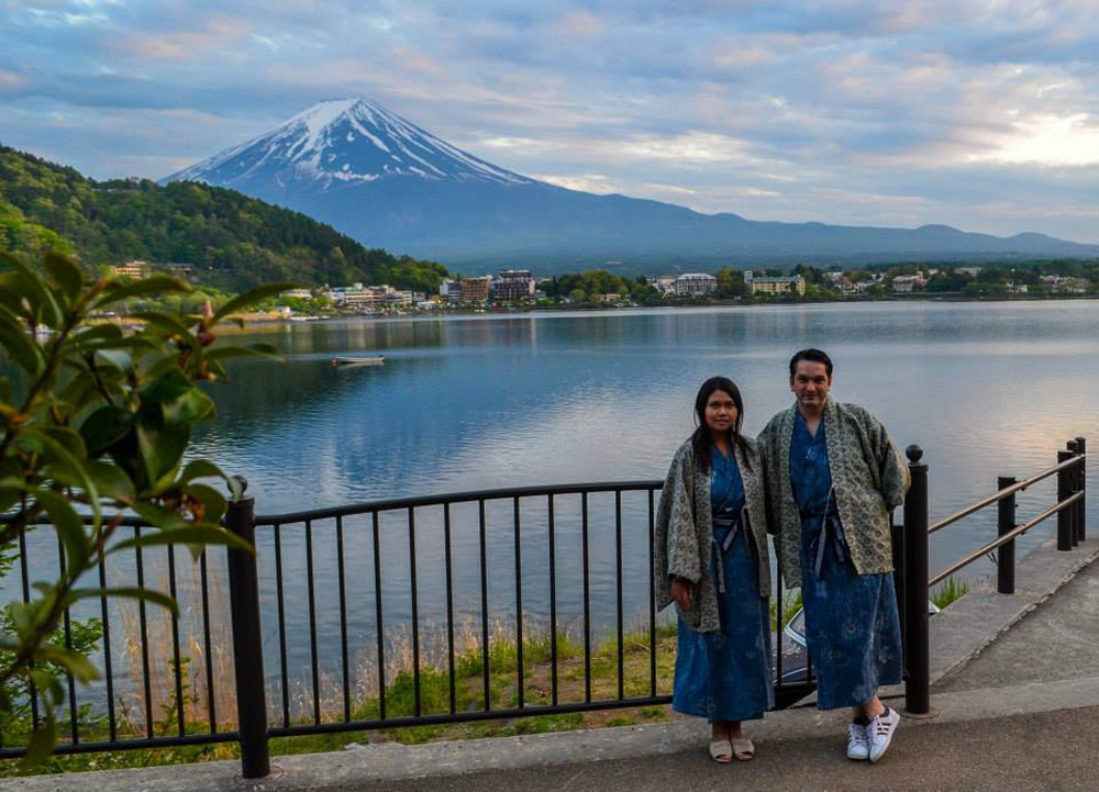 Ryokan Hotels At Mount Fuji And Lake Kawaguchiko Japan
