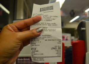 Aeroexpress Ticket, Moscow Airport to City Centre