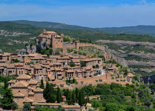 Alquezar Huesca Road Trip in Southern France and Borders