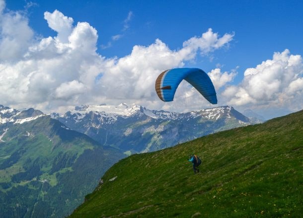 Solo Paragliding, Jungfrau 3 Day Pass in Summer Switzerland