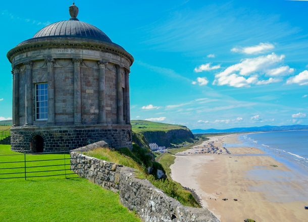 Mussenden Temple, Best Road Trips in Europe Fly and Drive Holidays